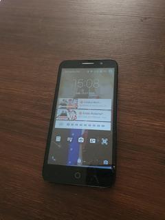 Celular Alcatel One Touch Apenas Com A Tela Trincada.
