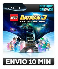 Lego Batman 3: Além De Gotham - Psn Ps3 - Pronta Entrega