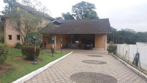 Chácara Em Condomínio Fechado Com 3 Dormitórios À Venda, 5000 M² Por R$ 2.000.000 - Penhinha - Arujá/sp - Ch0086