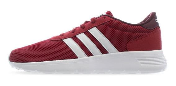 Tenis adidas Lite Racer - Ee8247 - Rojo Carmesi - Hombre