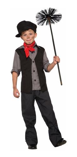 Disfraz De Bert De Mary Poppins Talla Medium Para Niño Mercado Libre