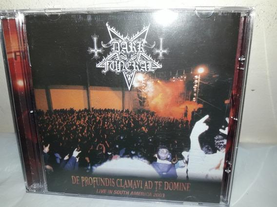 Cd Dark Funeral De Profundis Clamavi Ad Te Domine Live