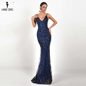 d36f57a7b6333 Vestidos Femeninos Formatura Azul com o Melhores Preços no Mercado ...