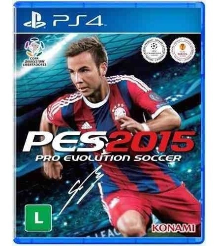Pes 2015 Pro Evolution Soccer Ps4 Mídia Física