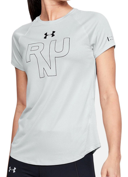 Remera Under Armour Running Ua Qualifier Run Mujer Gr