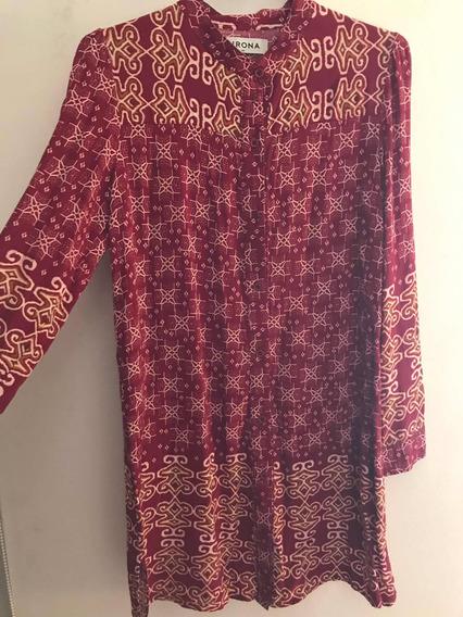 Camisa Hindu Larga Talle 40