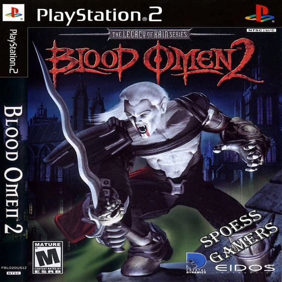 Blood Omen 2 Ps2 The Legacy Of Kain Series Patch Me