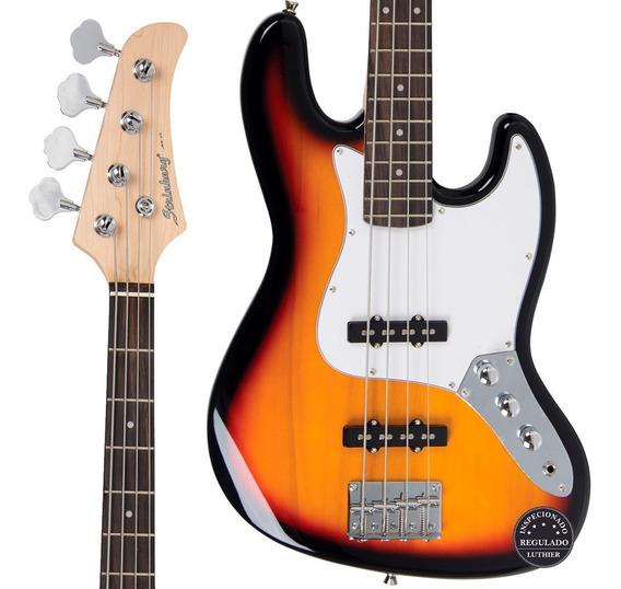 Contra Baixo Jazz Bass Strinberg Jbs40 Sb Regulagem Oferta!