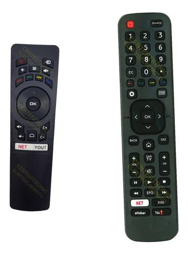 Imagen 1 de 5 de Control Remoto Dj32x5000 Dj43x5000 Para Noblex Smart Tv