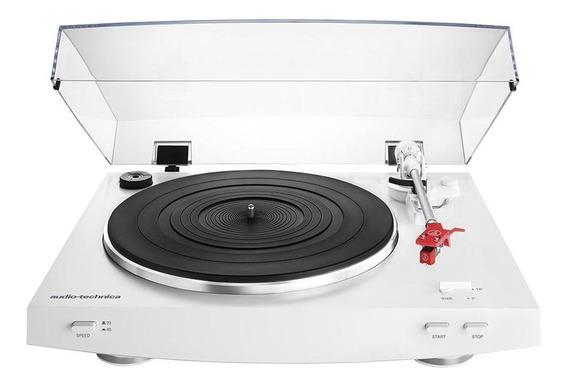 Toca-discos Audio-technica Estéreo Com Acionado Por Correia