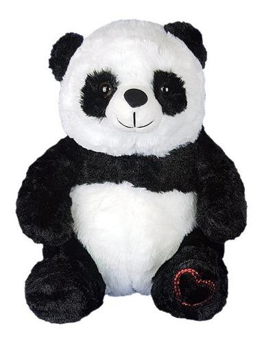 Imagem 1 de 4 de Urso Panda De Pelúcia 28cm - Sentado