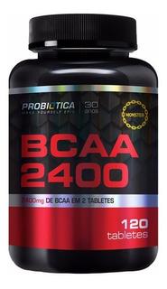 Bcaa 2400 Millennium (120 Tabletes) - Probiótica