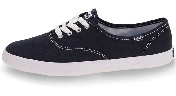 Kd102256 - Tênis Keds Champion Leather Azul Marinho Original