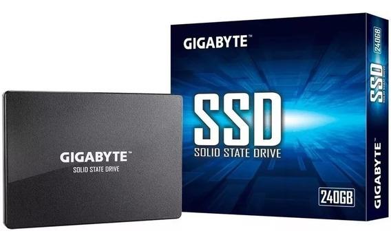 Disco Solido 240gb Gigabyte Sata 3 Ssd 500 Mb/s 2.5 Pulgadas