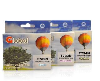 Cartuchos Pack Color 732 733 734 Tucuman T10, T20, T21
