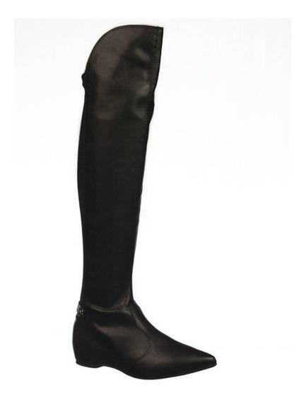 Bota Over The Knee Com Elástico Bico Fino Vizzano 3060103