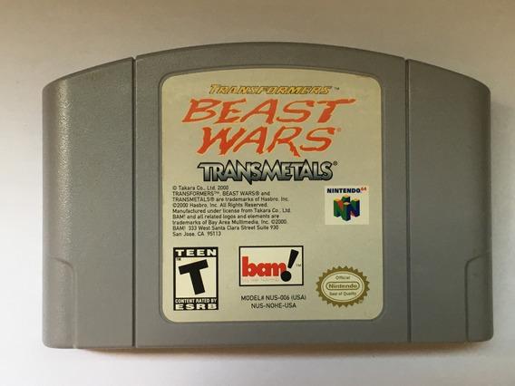 Transformers Beast Wars Transmetals Original Nintendo 64 N64