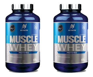 2 Muscle Whey Neo Nutri 900g