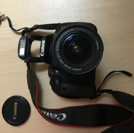 Câmera Canon Rebel T4i Dslr + Lente 18-55mm