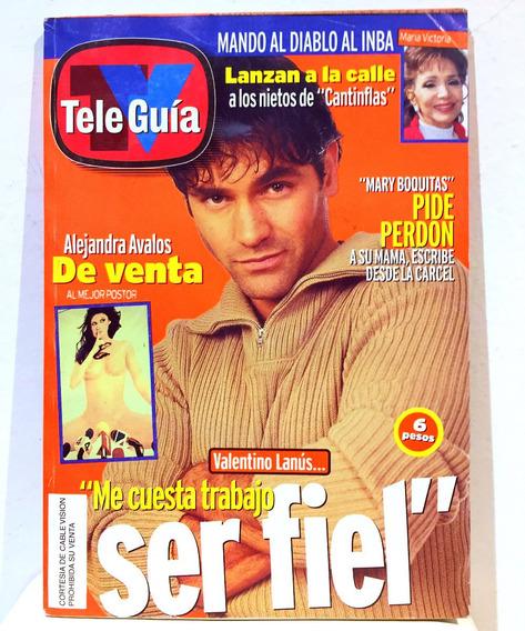 Revista Tele Guia Valentino Lanús Infiel