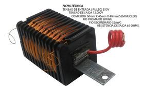 Bobina Para Eletrificador Rural 80/100 Km Com Nucleo