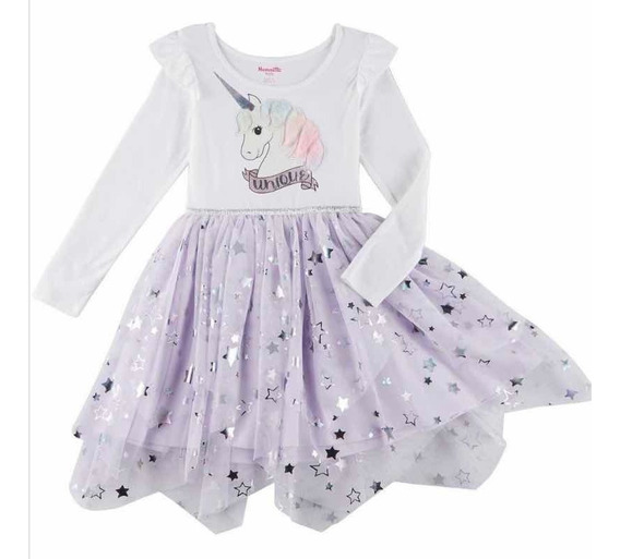 Vestido Niña Unicornio