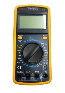 Tester Multimetro Digital Dt 9205 A Con Capacímetro Nuevo
