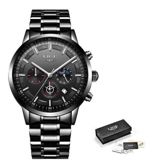 Relógio Masculino Lige 9877