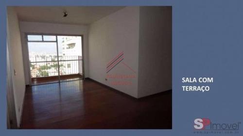 Apartamento Em Condomínio Padrão Para Venda No Bairro Vila Mariana, 3 Dorm, 1 Suíte, 2 Vagas, 94 M². - 80