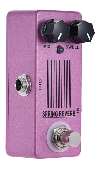 Mini Pedal Spring Reverb (sem Fonte)