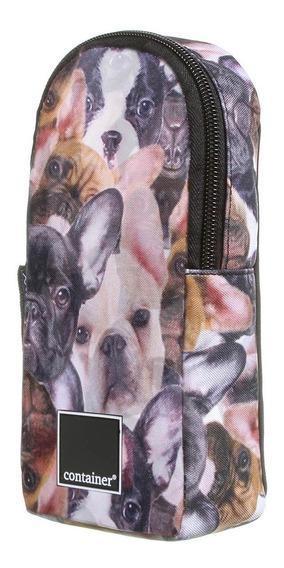 Kit Caderno + Estojo Container Dog Cachorro Dermiwil
