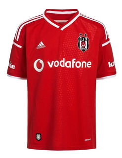 Jersey Besiktas adidas Original Nueva Perfecta Roja Futbol