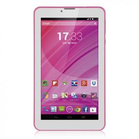 Tablet Rosa M7 3g Quad Core Câmera Wi-fi Tela Hd 7