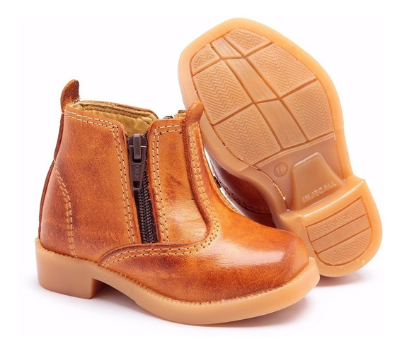 Sapato Bota Infantil Social Numero Do 18 Ao 34