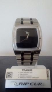 Reloj Rip Curl Original En Acero Inoxidable, ¡100 Metros!