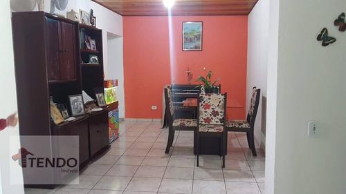 Imagem 1 de 25 de Casa 100 M² - Venda - 2 Dormitórios - Centro - Ribeirão Pires/sp  / Imob03 - Ca0261