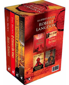 Livro Box - As Aventuras De Robert Langdon