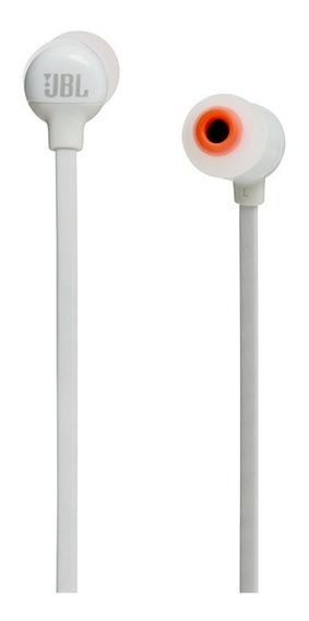 Fone De Ouvido Jbl In Ear T110bt Branco - Bluetooth