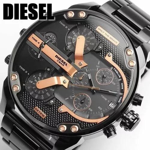 Relógio Diesel Dz7312 Mr Daddy Lançamento 57mm + Caixa