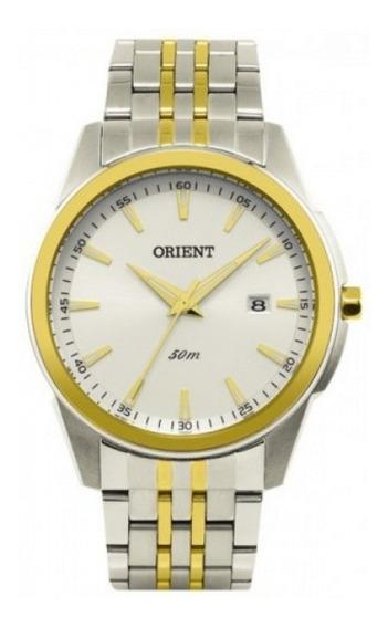Relógio Unissex Orient Mtss1086 S1sk Bicolor