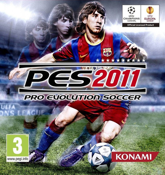 Pro Evolution Soccer 2011 - Pc Mídia Digital
