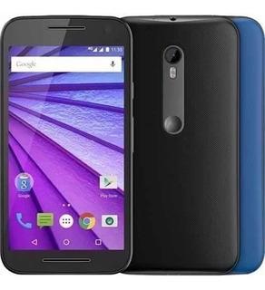 Motorola Moto G3ª Xt1543 16gb Preto 13mp Leia O Anúncio