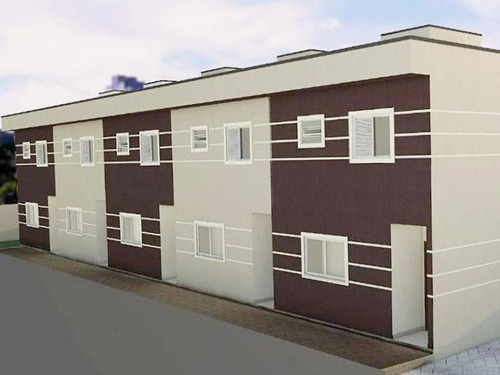 Imagem 1 de 11 de Sobrado Para Venda Em Mogi Das Cruzes, Vila São Paulo, 2 Dormitórios, 2 Suítes, 3 Banheiros, 2 Vagas - So054_1-1918111