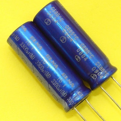 Imagen 1 de 1 de Placa Base De 3300uf Elna 16v Condensador X 2pcs. Japón Nuev