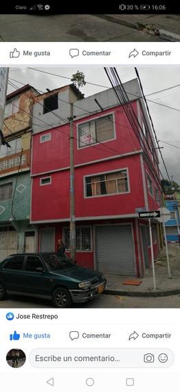 Casa De 3 Pisos Para Remodelar, Con Plancha Para El 4