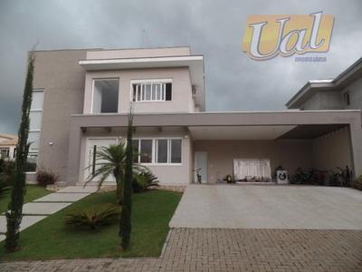 Sobrado Residencial À Venda, Condominio Porto Atibaia, Atibaia. - So0618