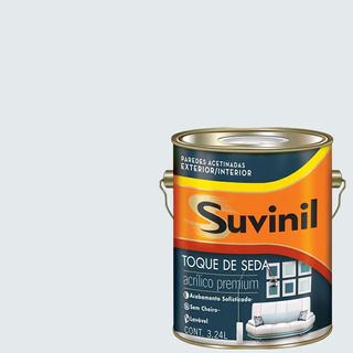 Tinta Acrílica Acetinada Suvinil Copo-de-leite 3,6lts