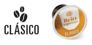 Capsulas Café 25 Britt Clasico 12 - Unidad a $1400