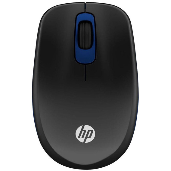 Mouse Hp Sem Fio Optico 1200dpi Ambidestro Z3600 Preto Azul