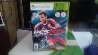 Juego Pes 2015 Para Consola Xbox 360